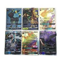 30pcs Pokemon Cards TCG Combat Flash Shining Card Pokemon Sun Moon GX Trading card 4 pack trading card toploaders 3x4inch transparent