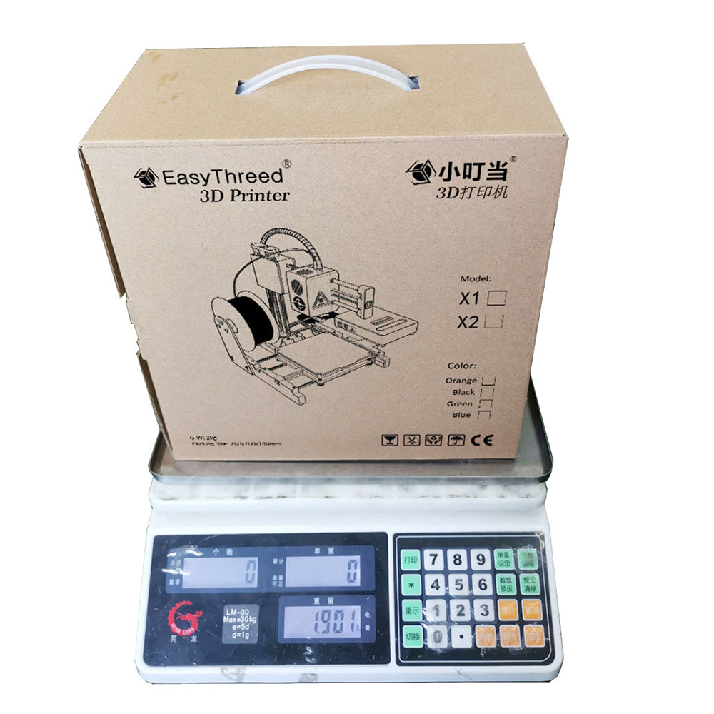 Mini Portable  Kids 3D DIY Printer for Household Education 20