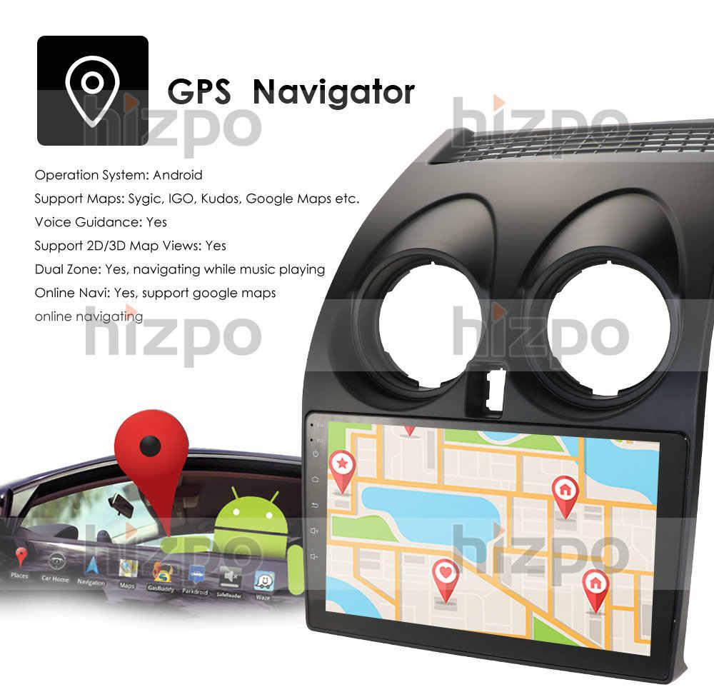 אנדרואיד 10 4GB + 64GB DSP CarPlay רכב רדיו Multimidia וידאו נגן GPS לניסן הקאשקאי 1 J10 2006-2013 2 דין לא-dvd USB סטריאו