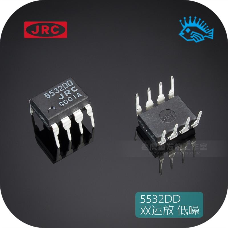 1pcs/5pcs Japan JRC 5532DD NJM5532DD DIP8 Fever Low Noise Precision Dual Op Amp Better Than NE5532