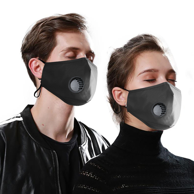 Face Mouth Mask Respirator Reusable Unisex Mask Breathable Anti-dust Haze Flu PM2.5 Face Masks Care For Travel Cycling D30 4