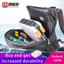 Tool Bag Waterproof Shoulders Electrician Tools Men Backpack Large Capacity Breathable Thicken Oxford cloth Organizer