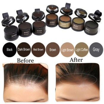 Hair Shadow Powder Hair Line Modified Repair Hair Shadow Trimming Powder Makeup Hair Concealer Root Cover Up Unisex Instantly