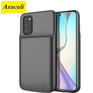 Чехол Araceli для Samsung Galaxy S20 S20 + Plus S20 Ultra, чехол с аккумулятором для смартфона, чехол с зарядным устройством