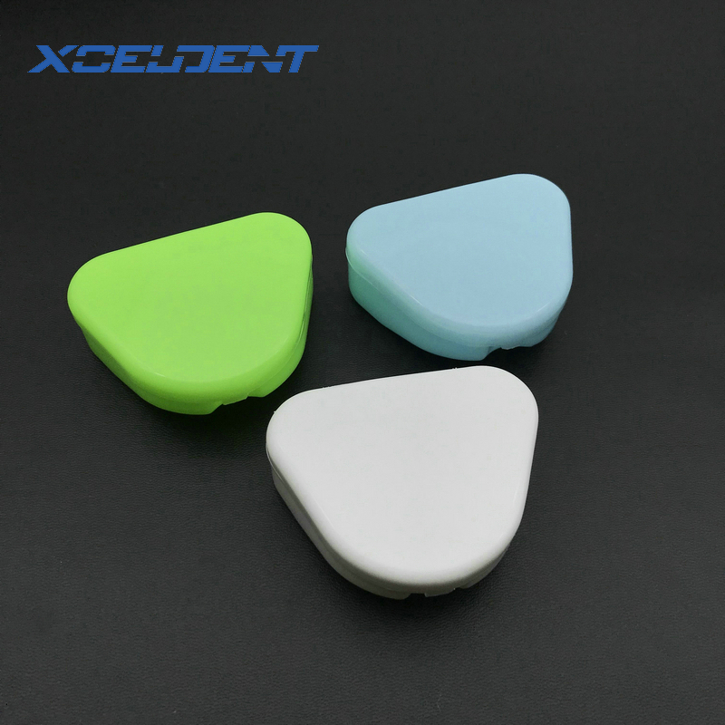 1pcs Dental Retainer Box Mouthguards Dentures Sport Guard Denture Storage Child And Adult Orthodontic Container 3 Color