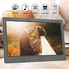 10 inch digital photo frame HD 1024x600 LED Backlight Full Function Picture Video Electronic Album Gift