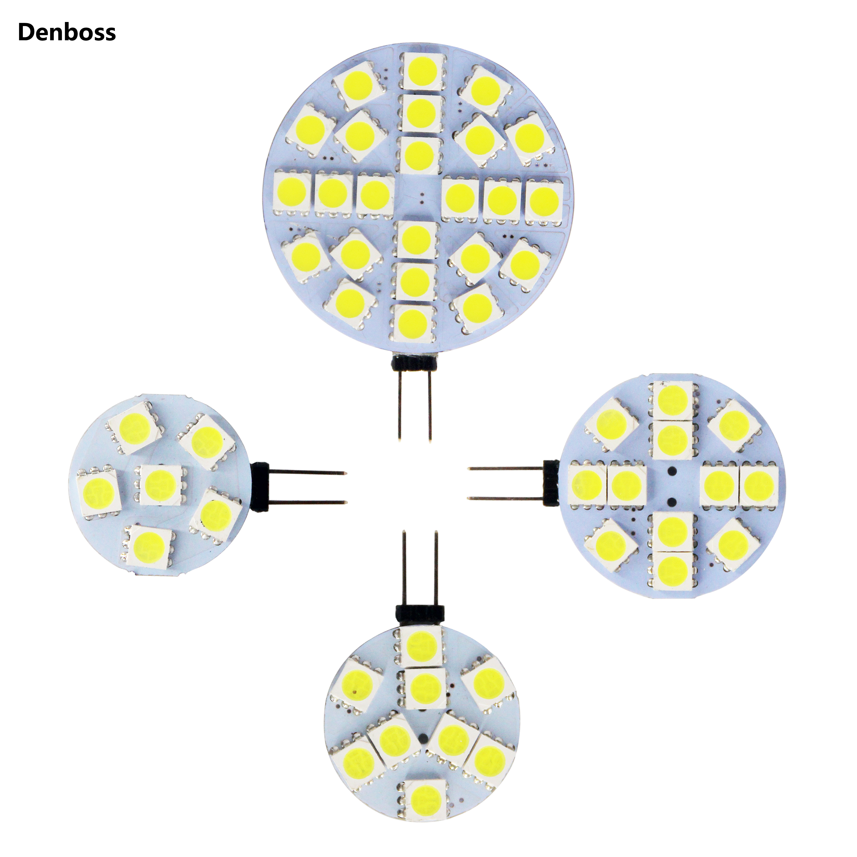 Free Shipping LED Lamp Bulb G4 5050 SMD 6 Leds 24 Leds 12 Leds 9 Leds 12V AC DC Replace Halogen Lighting Lights Spotlight