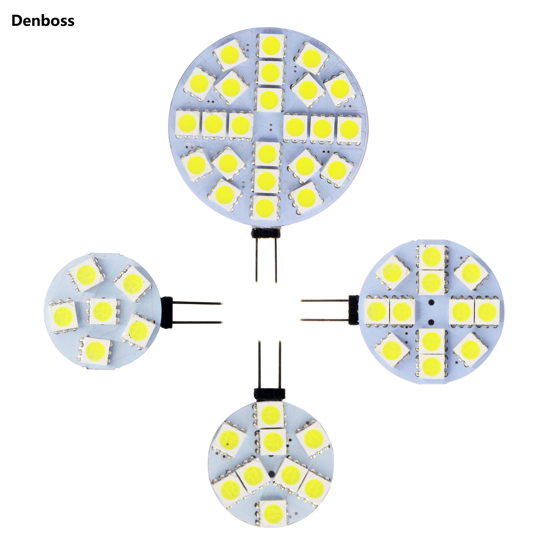 Free Shipping LED Lamp Bulb G4 5050 SMD 6 Leds 24 Leds 12 Leds 9 Leds 12V AC DC Replace Halogen Lighting Lights Spotlight