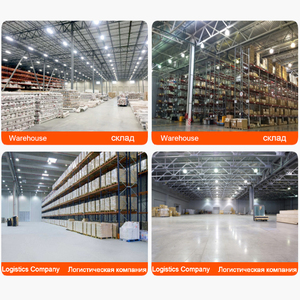 Image 5 - 100W 150W 200W UFO LED High Bay Light Mining lamp AC220V 110V  Super Bright Warehouses Market Workshop Stadium Garage lamp