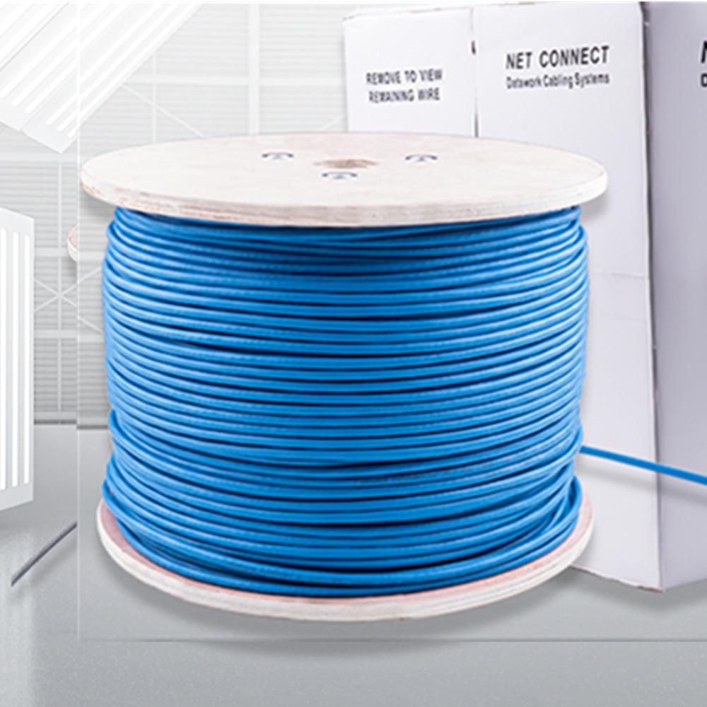 RJ45 Cat6 Ethernet Cable SFTP Conector rj 45 cat 6 internet lan cable For Laptop Router 10M/20M/30M/50M/100M/305M Patch Cord