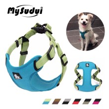 MySudui Truelove Medium Small Dog Harness Vest Strap Adjustable Reflective Puppy Pitbull Chihuahua Accessories