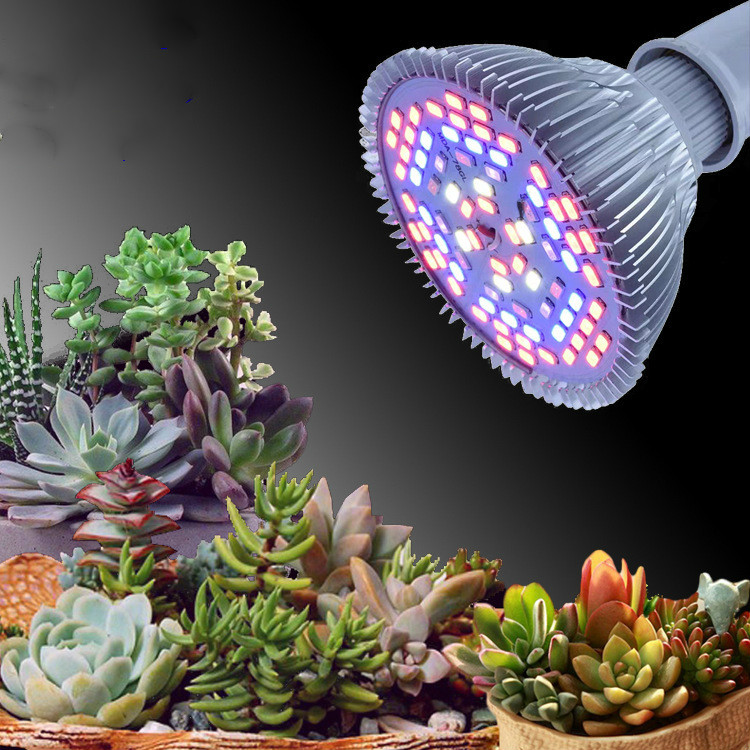 Plant Growth Lamp Full Spectrum Imitation Sun Multi-meat Supplementary Light Household Coloring Light Orchid Vegetables Green