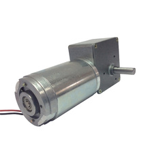 53GZ868 with Reduction Gearbox with Self-locking Worm Reducer Geared Motor High Torque Electric Motor DC 12V100RPM 24V 200RPM