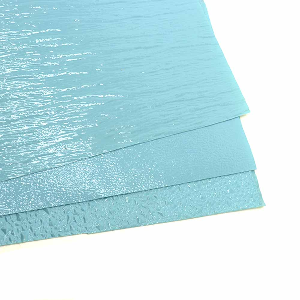 Model Water Surface Ripple Simulation Surface DIY PVC Blue Color Pattern Building Lake Water Wave Film Landscape