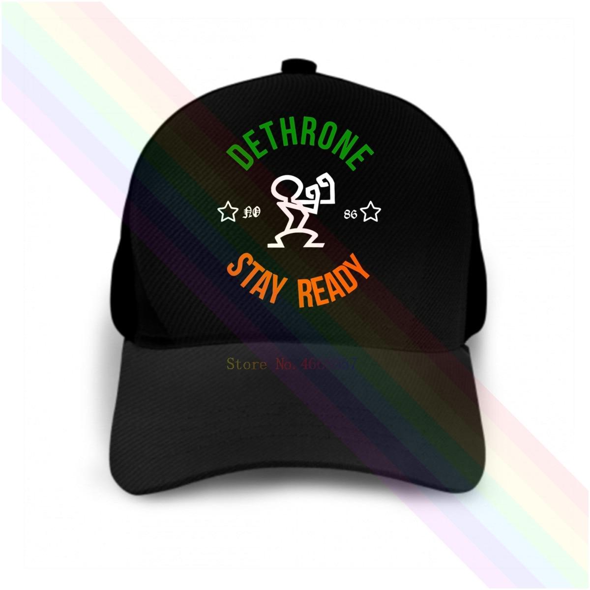 New Fashion Dethrone Conor Mcgregor Dublin Walk Out 2020 Newest Black Popular Baseball Cap Hats Unisex Discounts Sale