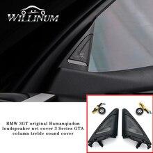 Car tweeter cover trim for BMW F34 3GT  auto interior front speaker treble audio twiiter horn trumpet loudspeaker trump replace