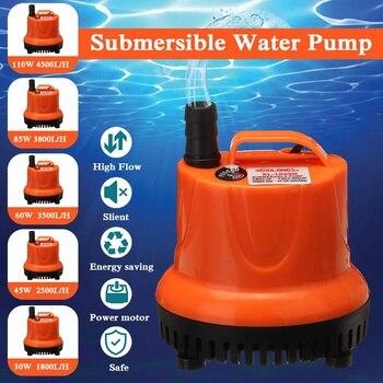 30/45/60/85/110W Aquarium - Fish Pond Pump Ultra-Quiet Submersible  1