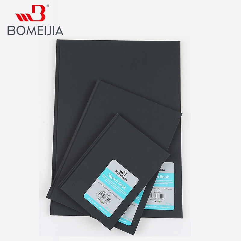 A3 A4 A5 Sketch Book Stationery 56sheets Sealing Glue Sketch Paper Notepad For Painting Drawing School Art Gift