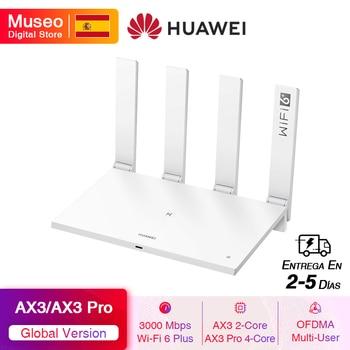 Global Version HUAWEI WiFi AX3 / WiFi AX3 Pro Wireless Router Dual-core WiFi 6+ 3000Mbps 2.4GHz 5GHz Dual-Band Gigabit Rate