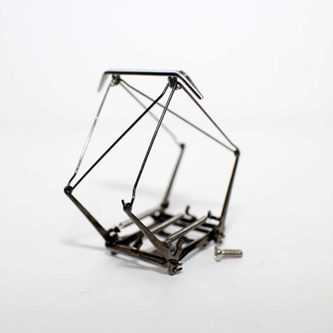 Báscula HO 2 uds., pantográfico eléctrico de tracción 1:87, brazo, arco, tren, brazo, arco, pantográfico, de aleación, accionado para bacmann