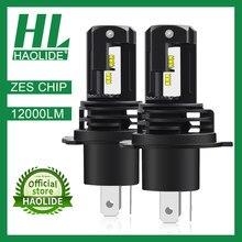 /HL ZES Chip H1 H4 H11 H7 LED Ice Bulbs for Car Headlights HB3 9005 HB4 9006 H11 LED Fog Lamp 6500K Motorcyle Lamps H4 LED Bulbs