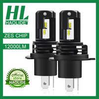 /HL ZES Chip H1 H4 H7 H11 LED Ice Bulbs for Car Headlights HB3 9005 HB4 9006 LED H8 Fog Lamp 6000K Motorcyle Lamps H4 LED Bulbs