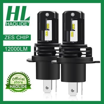 /HL ZES Chip H1 H4 H7 H11 LED Ice Bulbs for Car Headlights HB3 9005 HB4 9006 LED H8 Fog Lamp 6000K Motorcyle Lamps H4 LED Bulbs цена 2017