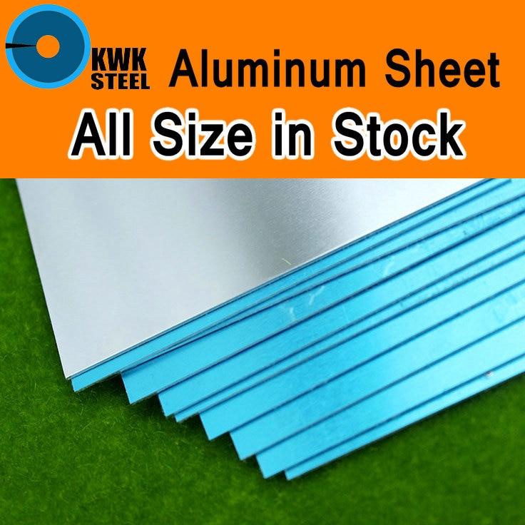 Aluminum Sheet AL 1060 Pure Aluminium Plate DIY Material Model Parts Car Frame Metal For Vehicles Boat Construction Soft Easy