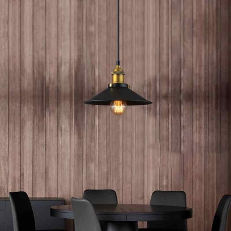 ヴィンテージペンダントライト鉄工業レトロスタイルシェードロフトぶら下げランプ金属ケージダイニングルームバー廊下素朴なスタイル