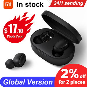 Original Xiaomi Redmi Airdots TWS Wireless Earphone Handsfree Earbuds Voice Control Bluetooth 5.0 Noise Reduction Tap AI Control(China)