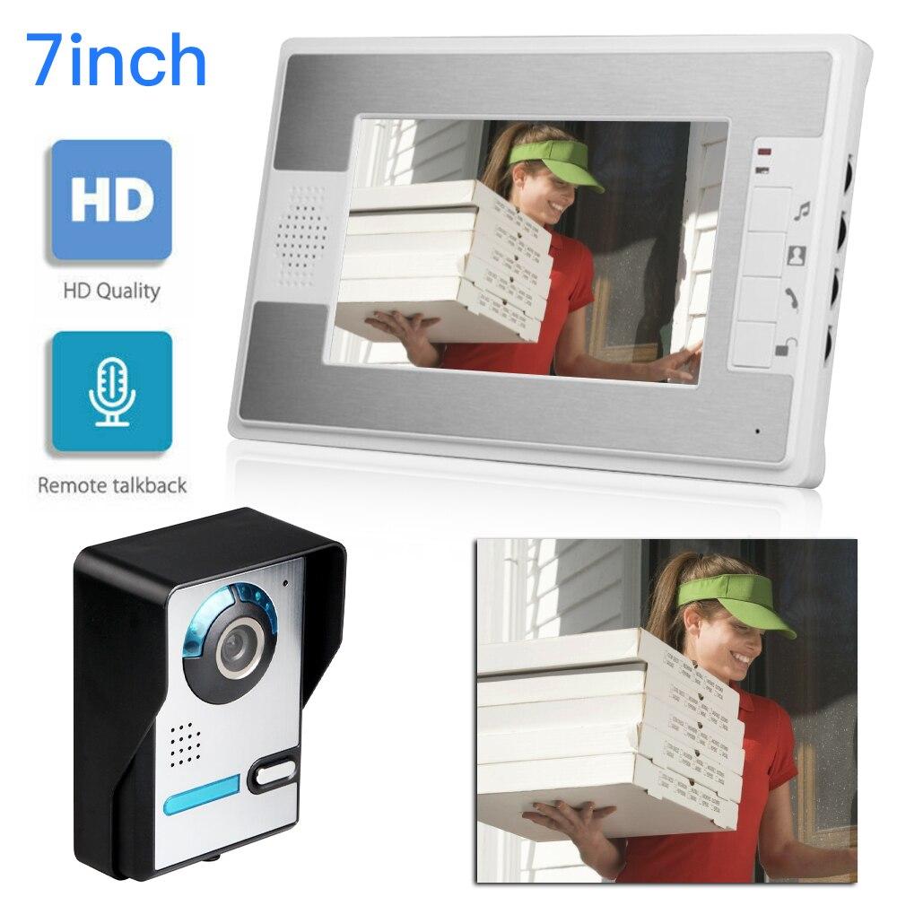 Smart Doorman WiFi Doorbell Ring Video 720P Video Camera Waterproof Home Security House Bell Video Doorbell