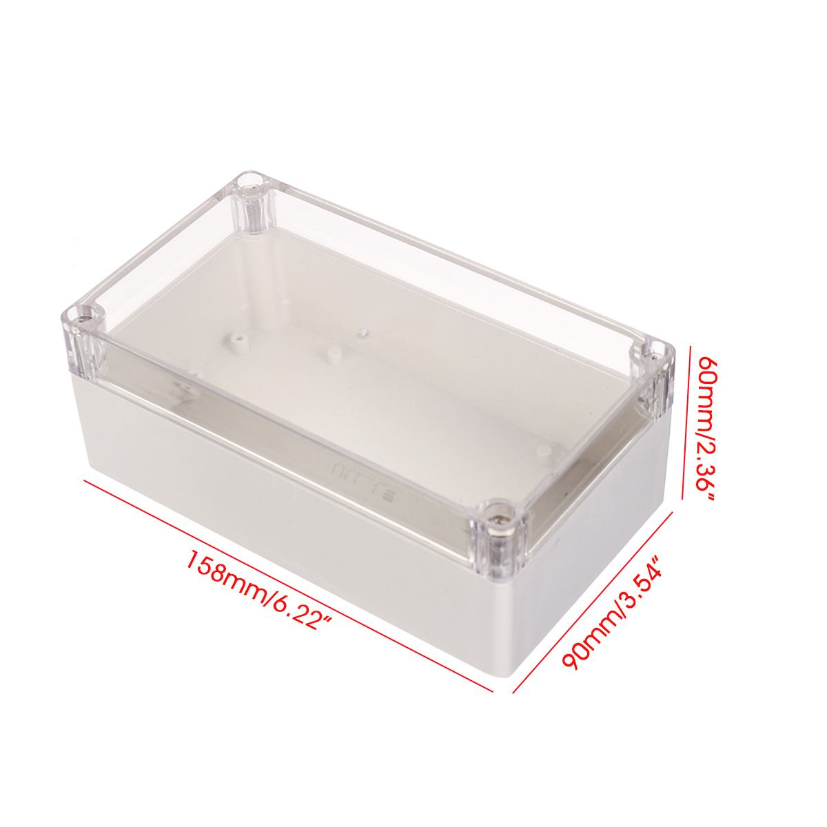158*90*60mm Plastic Electronic Box Case Project Box Enclosure Waterproof