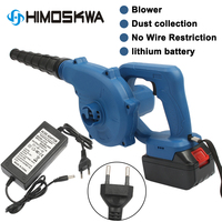600W 220V 3Ah Cordless Lithium Battery Electric Air Blower Blowing Sucking Dual useDust Computer cleaner Electric Turbo Fan