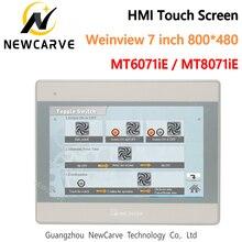 HMI Сенсорный экран WEINVIEW/WEINTEK MT6071iE MT8071iE 7 дюймов 1024*600 интерфейс человеческая машина замена MT6100I NEWCARVE