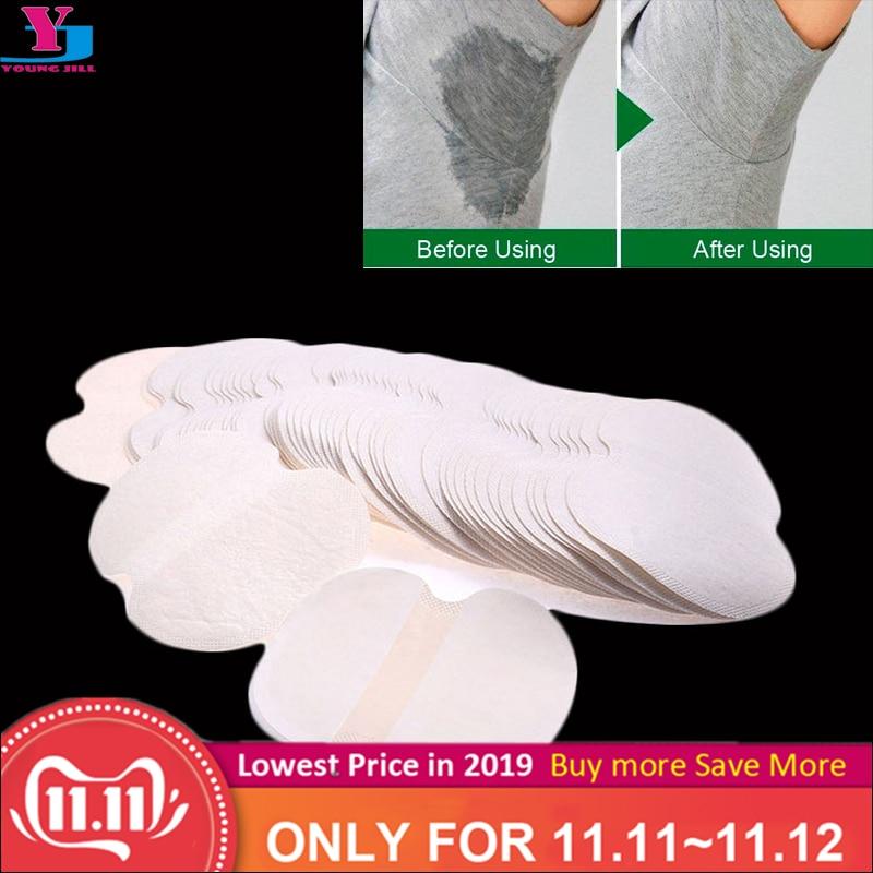 100Pcs ( 50pairs ) Armpit Sweat Pads Summer Disposable Underarm Absorbing Anti Perspiration Deodorant Unisex Shield Wholesale