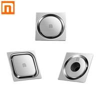 Xiaomi Diiib Floor Drain Deodorant Insect Proof Stainless Steel Swirling Drainage Kitchen Bathroom Anti-blocking Filter Drain
