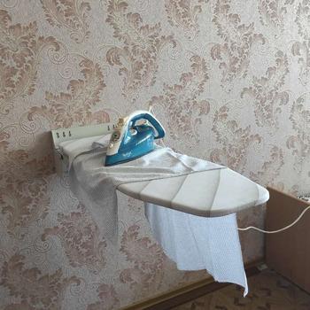 Naścienna obrotowa podwójna klapa 180 ° składana deska do prasowania ukryta deska do prasowania domowego tanie i dobre opinie ishiline CN (pochodzenie) Składane Metal Żelaza rury gh1129 Ironing clothes