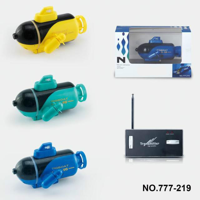 Best Selling Remote Control Submarine Four-channel Submarine Electric Toys For Children Mini Remote Control Boat Model