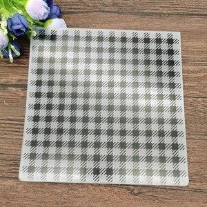 Небольшой квадратный фон для печати DIY пластиковые папки для тиснения для DIY скрапбукинга бумаги ремесло/карты для изготовления декораций