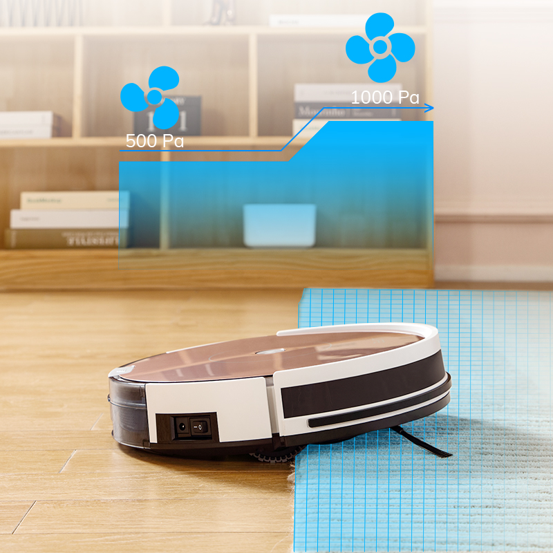 ILIFE NEW A80 Plus Robot Vacuum Cleaner Smart WIFI App control Powerful suction Electronic wall cleaning 4