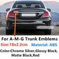Автомобильный логотип, эмблема Средства для укладки волос наклейки для Mercedes AMG GLA GLC GLE GT C E G S Class W177 W210 W211 3D значок Стикеры
