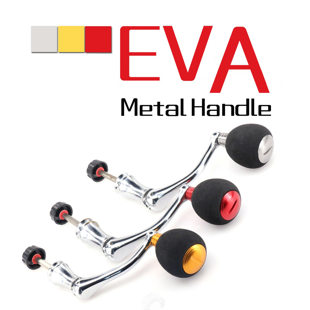 EVA-moulinet de pêche en métal complet, moulinet de pêche, série 2000-6000, accessoires de pêche