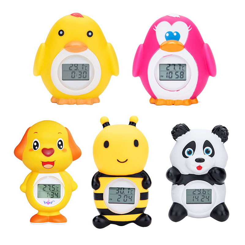 Baby Bath Thermometer Household For Children Bathtub Swimming Pool Safety Thermometer With Temperature Alarm Bath Shower Porduct