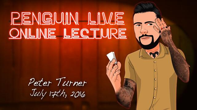 Peter Turner Penguin Live ACT2  MAGIC TRICKS