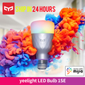 New Release Yeelight 1SE E27 6W RGB Smart LED Bulb Wireless Voice Control Colorful Light Support Google Home Work With Mija App