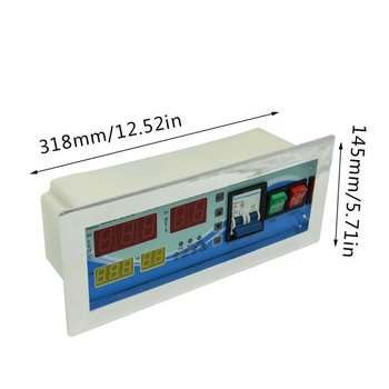 Xm-18D Automatic Egg Incubator Controller Thermostat Temperature Humidity Incubator Sensor Probe Incubator Control System