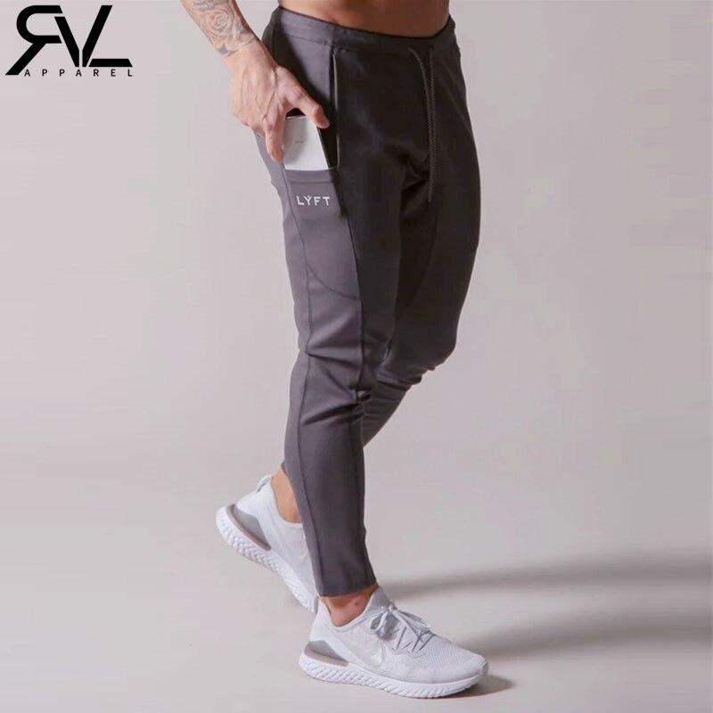 2020 LYFT Mens Sweatpants Joggers Running Sports Jogging Pants Men Trouser Tracksuit Gym Pants Fitness Bodybuilding Men Pants