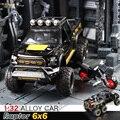 Литая модель автомобиля FORD RAPTOR 1:28, металлическая модель автомобиля, игрушечный автомобиль с большими колесами из сплава, автомобиль со звук...
