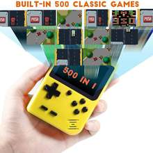 500 в 1 портативная игровая консоль 8 бит Ретро видеоплеер 30