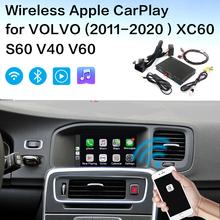Bezprzewodowy interfejs Apple Carplay volvo Android dekoder dla volvo (2015-2019)XC60 S60 V40 V60 volvo Carplay tanie tanio Ruishixing CN (pochodzenie) Double Din